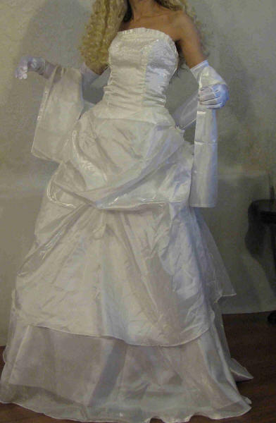 Southern Belle Wedding Dress Gown UK Seller