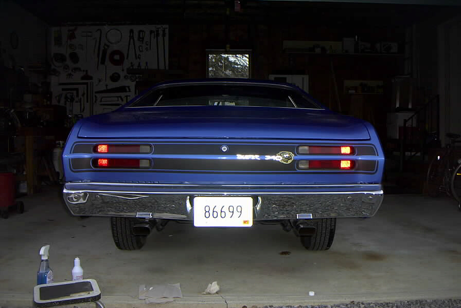 plymouth duster 1971 tail end